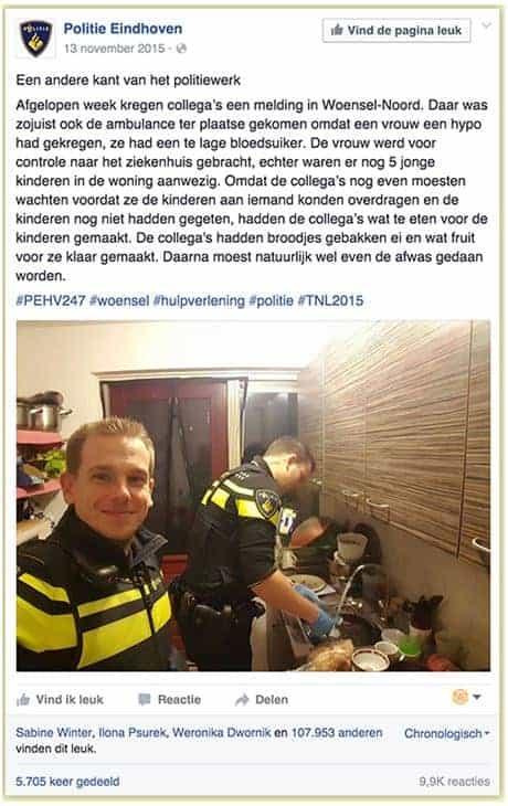 Politie richtlijnen